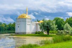 Павильон турецкой ванны на Tsarskoe Selo Стоковые Изображения RF