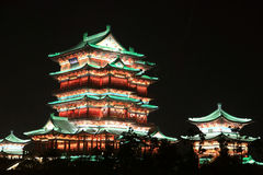 Павильон tengwang Наньчана, Цзянси, Китай Стоковая Фотография