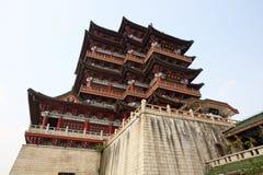 Павильон Tengwang, фарфор Стоковое Фото
