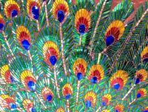 Павлины сделанные из стекла Моисея для предпосылки стоковые изображения