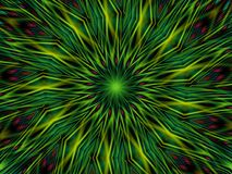 павлин картины пера круга иллюстрация вектора