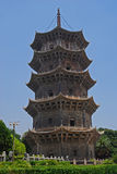 Пагода виска Kaiyuan Стоковая Фотография RF