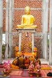 Пагода монаха горы PHNOM Oudong na górze горы Стоковые Изображения