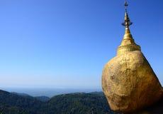 Пагода Kyaiktiyo Стоковые Изображения RF