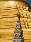 Пагода Shwe Sayan в Dala, Мьянме Стоковая Фотография RF