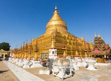 Пагода Shwezigon стоковые фото