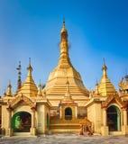 Пагода Sule в Янгоне Стоковое фото RF