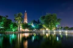 Пагода Tran Quoc Стоковая Фотография
