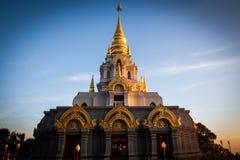 Пагода Wat Santikhiri Sinakarintra Stit Mahasantikhiri в Doi Mae Salong, провинции Chiang Rai, северном Таиланде стоковая фотография