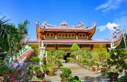 Пагода буддиста бегства Tung Nha Trang Вьетнам Стоковые Фотографии RF