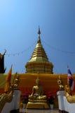 Пагода Будды в Таиланде, Азии 15 Стоковые Изображения RF