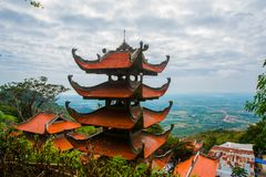 Пагода, виски ashurbanipal Вьетнам Phan Thiet Лето Стоковые Изображения