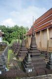 Пагода в виске Таиланда Стоковая Фотография RF