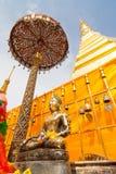 Пагода в севере Таиланда. Стоковые Фотографии RF