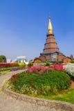 Пагода в севере Таиланда Стоковое Фото