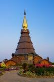 Пагода в севере Таиланда. Стоковая Фотография RF
