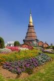 Пагода в севере Таиланда. Стоковое фото RF