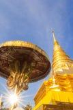 Пагода в севере Таиланда. Стоковое Фото