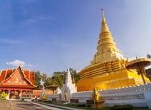 Пагода в севере Таиланда. Стоковые Изображения RF
