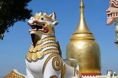 Пагода в старом Bagan, Мьянма Paya бушеля золотая Стоковые Изображения
