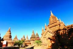 пагода в bagan Мьянме Стоковые Изображения RF