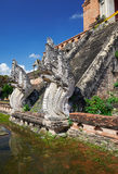 Пагода в Wat Chedi Luang в Чиангмае Стоковая Фотография