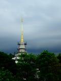 Пагода и небо Стоковые Изображения RF