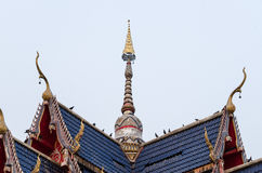 Пагода крыши Стоковое фото RF