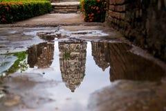 Пагода кхмера Стоковые Фотографии RF