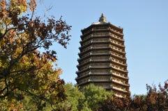 Пагода на виске Cishou Стоковая Фотография RF