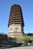 Пагода на виске Cishou Стоковое фото RF