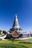 Пагода на национальном парке Doi Inthanon Стоковые Изображения RF