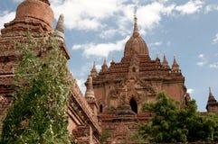 Пагода на Bagan в Мьянме Стоковое Изображение RF