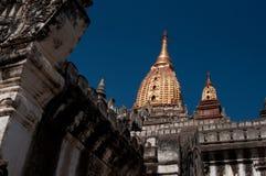 Пагода на Bagan в Мьянме Стоковая Фотография RF