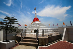 Пагода на koh-Kred, Nonthaburi, Таиланде Стоковые Фотографии RF
