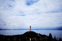 Пагода озера Erhai Стоковое Изображение RF