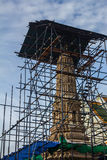 Пагода под восстановлением Стоковые Фото