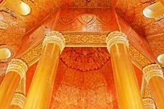 Пагода реликвии зуба Будды, Янгон, Мьянма Стоковая Фотография