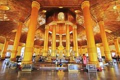 Пагода реликвии зуба Будды, Янгон, Мьянма Стоковое Изображение RF