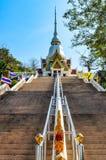 Пагода с длинной лестницей Стоковое Изображение