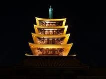 Пагода токио Стоковая Фотография