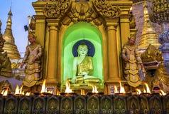 Пагода Янгон Shwedagon Стоковая Фотография