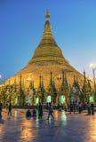 Пагода Янгон Shwedagon Стоковые Изображения