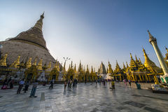 Пагода Янгон Shwedagon Стоковое фото RF