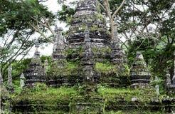 Пагода Alongkorn Chedi в Chanthaburi Стоковые Изображения RF