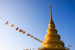 Пагода Golder Стоковая Фотография