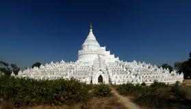 Пагода Hsinbyume в Mingun, Мьянме стоковые изображения