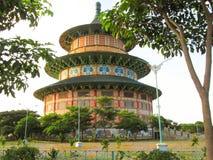 Пагода Kenjeran Сурабая стоковое изображение