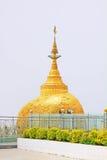 Пагода Kyaiktiyo или золотой утес, Мьянма Стоковое Изображение