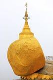 Пагода Kyaiktiyo или золотой утес, Мьянма Стоковые Изображения